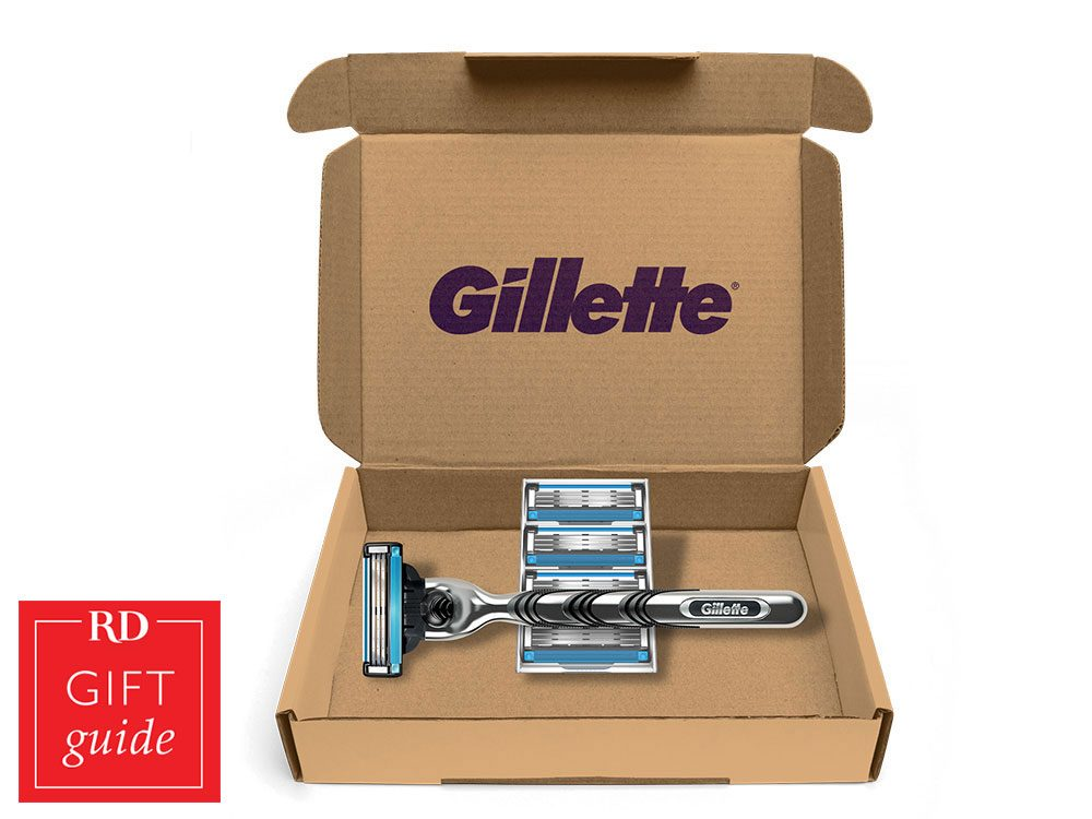 Canadian gift guide - Gillette on Demand
