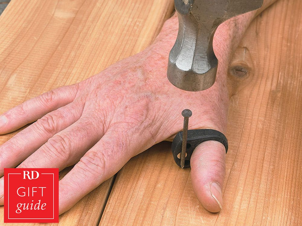 Canadian gift guide - Lee Valley Thumbits driver holder ring