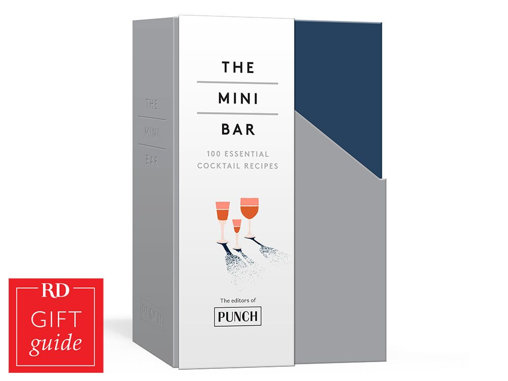 Canadian gift guide - The Mini Bar Cocktail recipes book