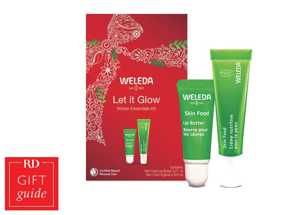Canadian gift guide - Weleda Winter Essentials kit