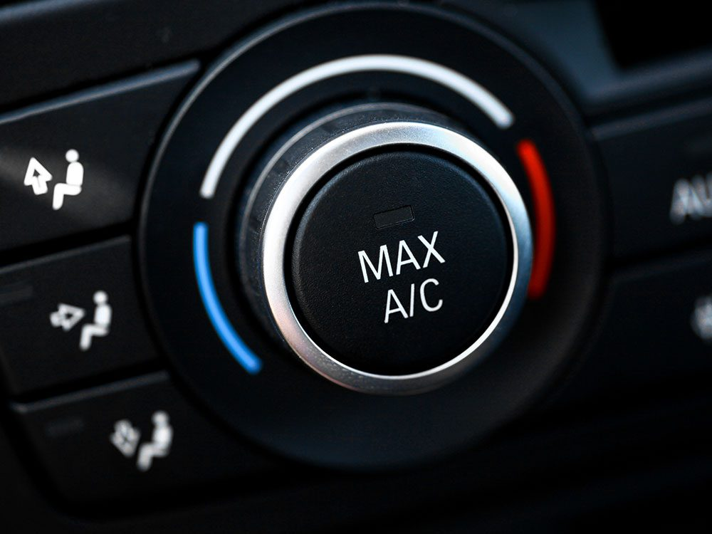 Car maintenance services: Air conditioning service