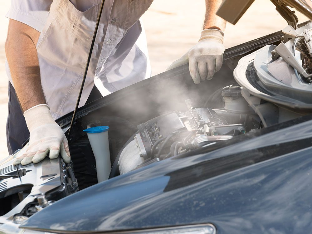 Car maintenance services: Coolant system
