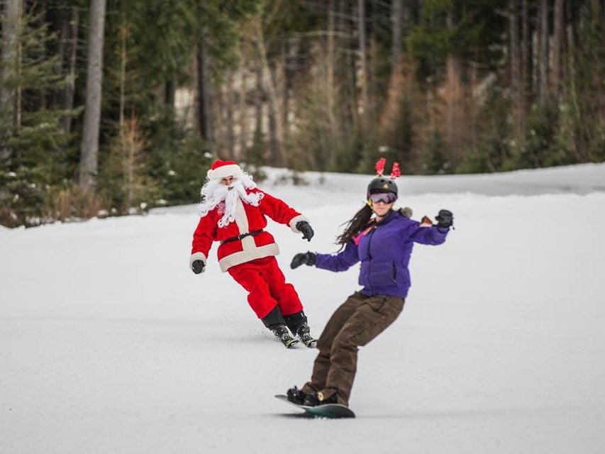 Christmas in Canada: Fernie, B.C.