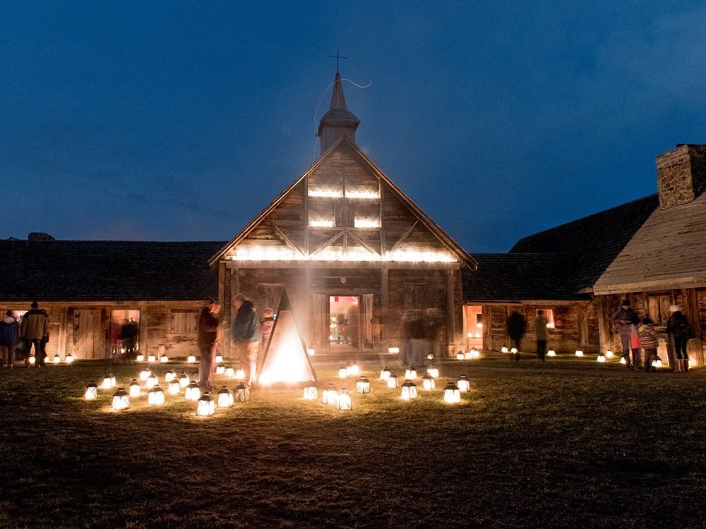 Christmas in Canada: First Light at Sainte-Marie Among the Hurons
