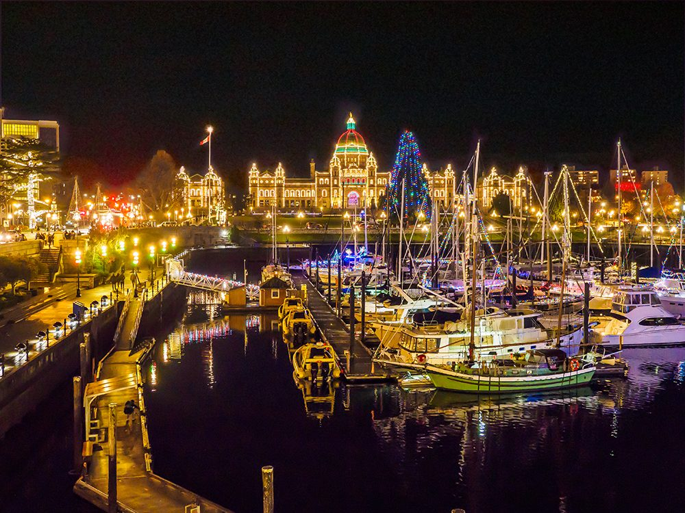 Christmas in Canada: Victoria, BC