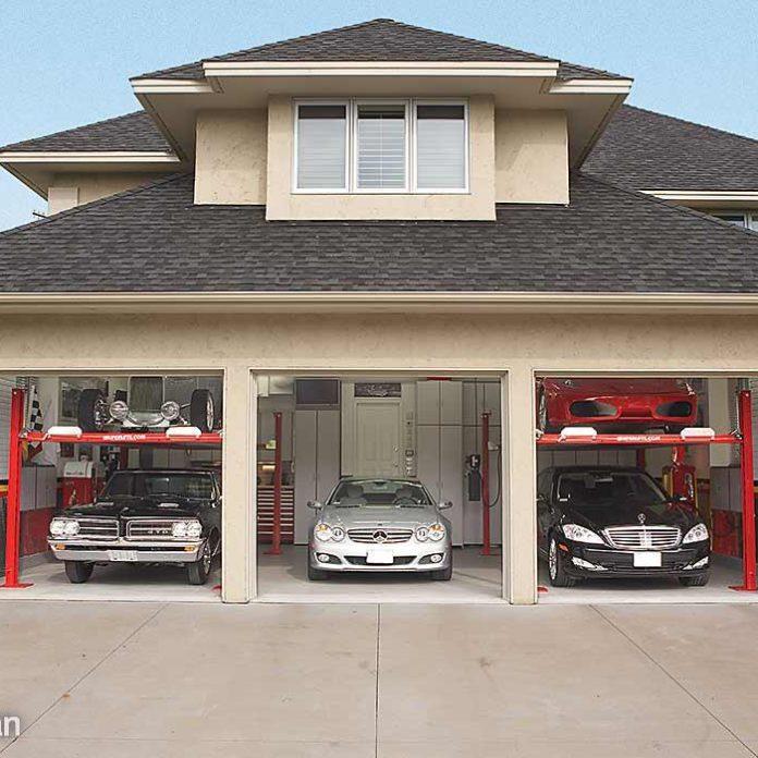 Dream Garage Tour: Double-Decker Car Storage
