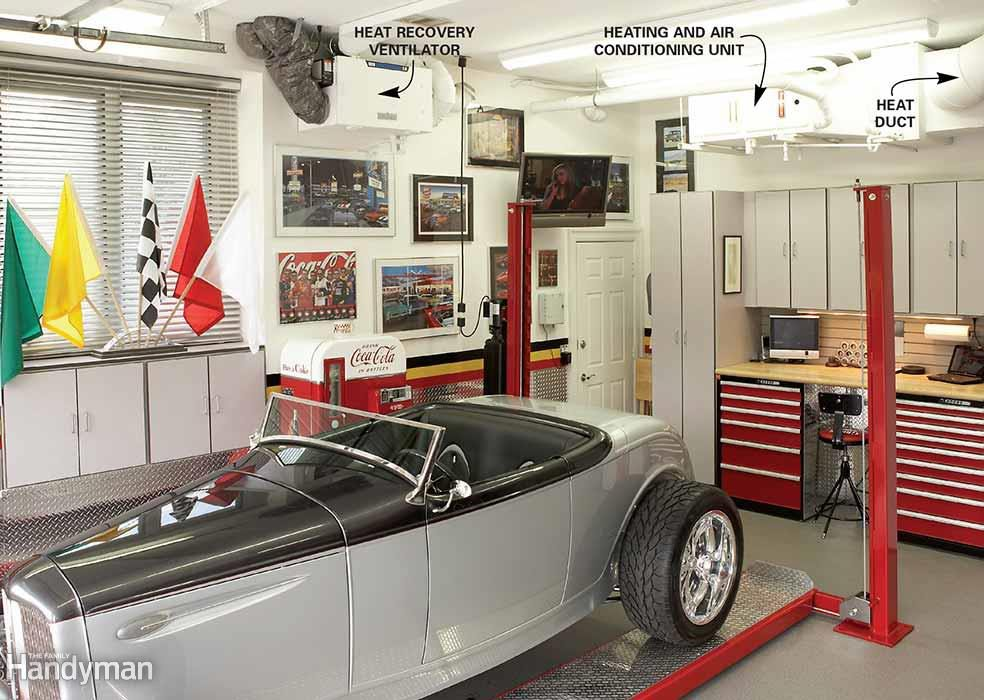 Dream garage ventilation system