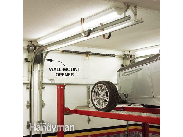Dream garage: Wall-mount garage door opener