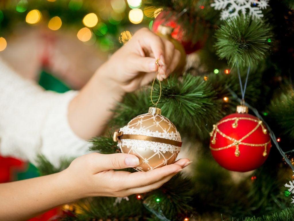 Christmas tree orb