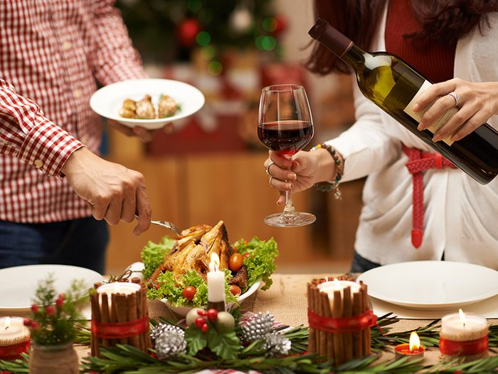 Get help when hosting a Christmas party