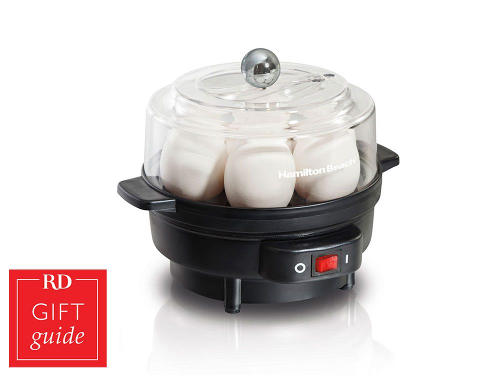 Canadian gift guide - Hamilton Beach egg cooker