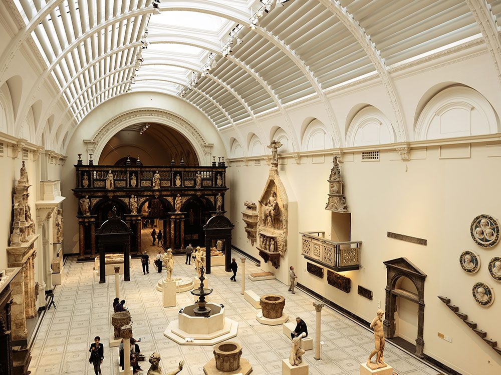 London attractions - Victoria and Albert Museum