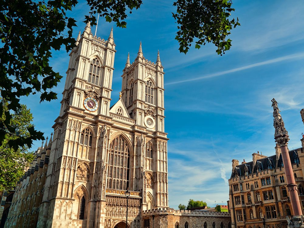 London attractions - Westminster Abbey