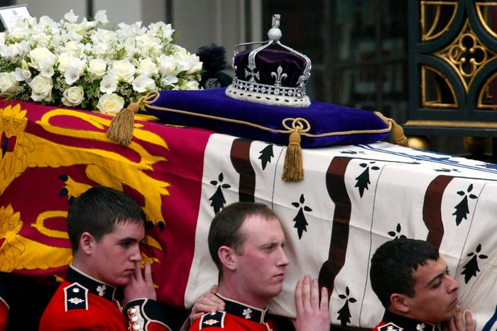 Media coverage for Queen Mother's death