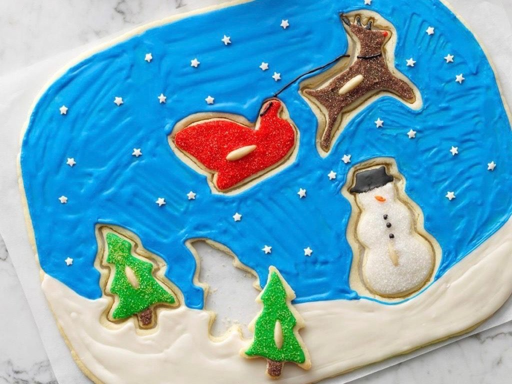 Santa's Coming Cookie Puzzle