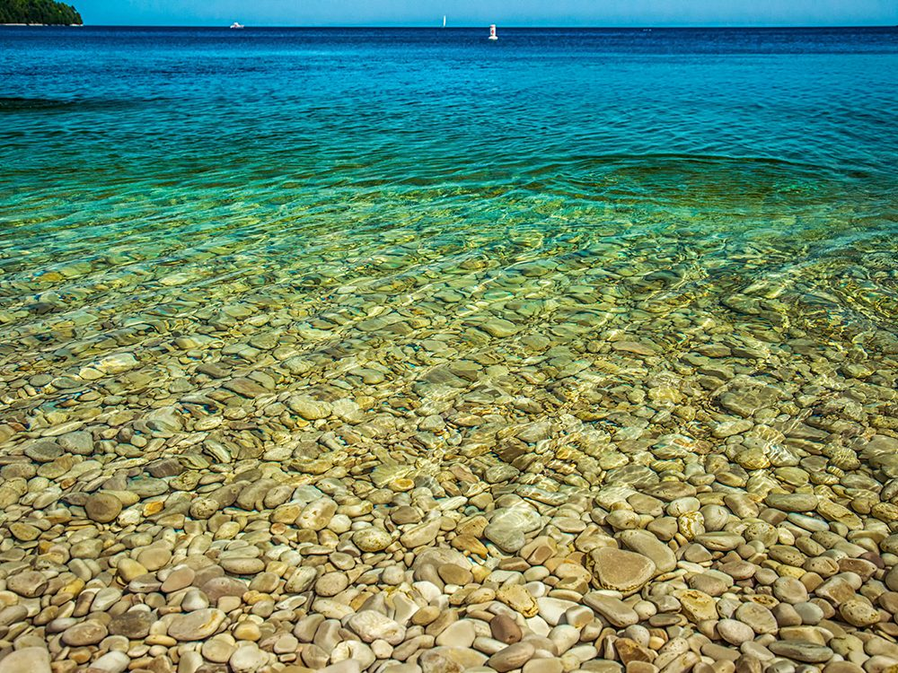 Small islands: Schoolhouse Beach, Washington Island, WI