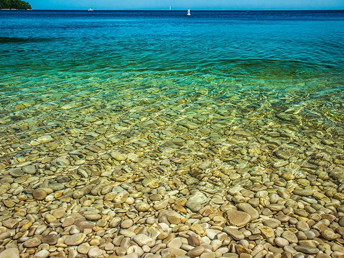 Small islands: Schoolhouse Beach, Washington Island, WI