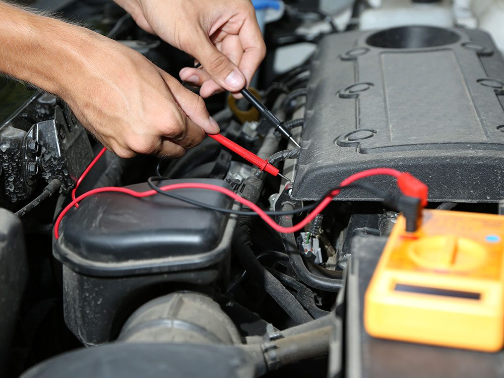Test your car battery regularly