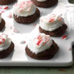 Triple-Chocolate Peppermint Treats
