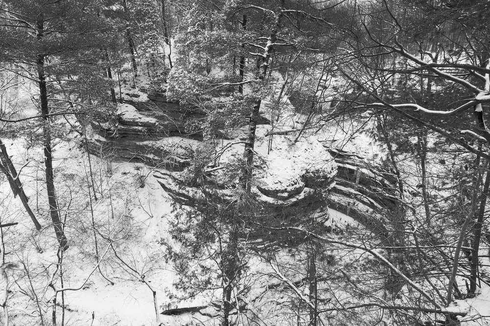 Starved Rock State Park - Winter scenery
