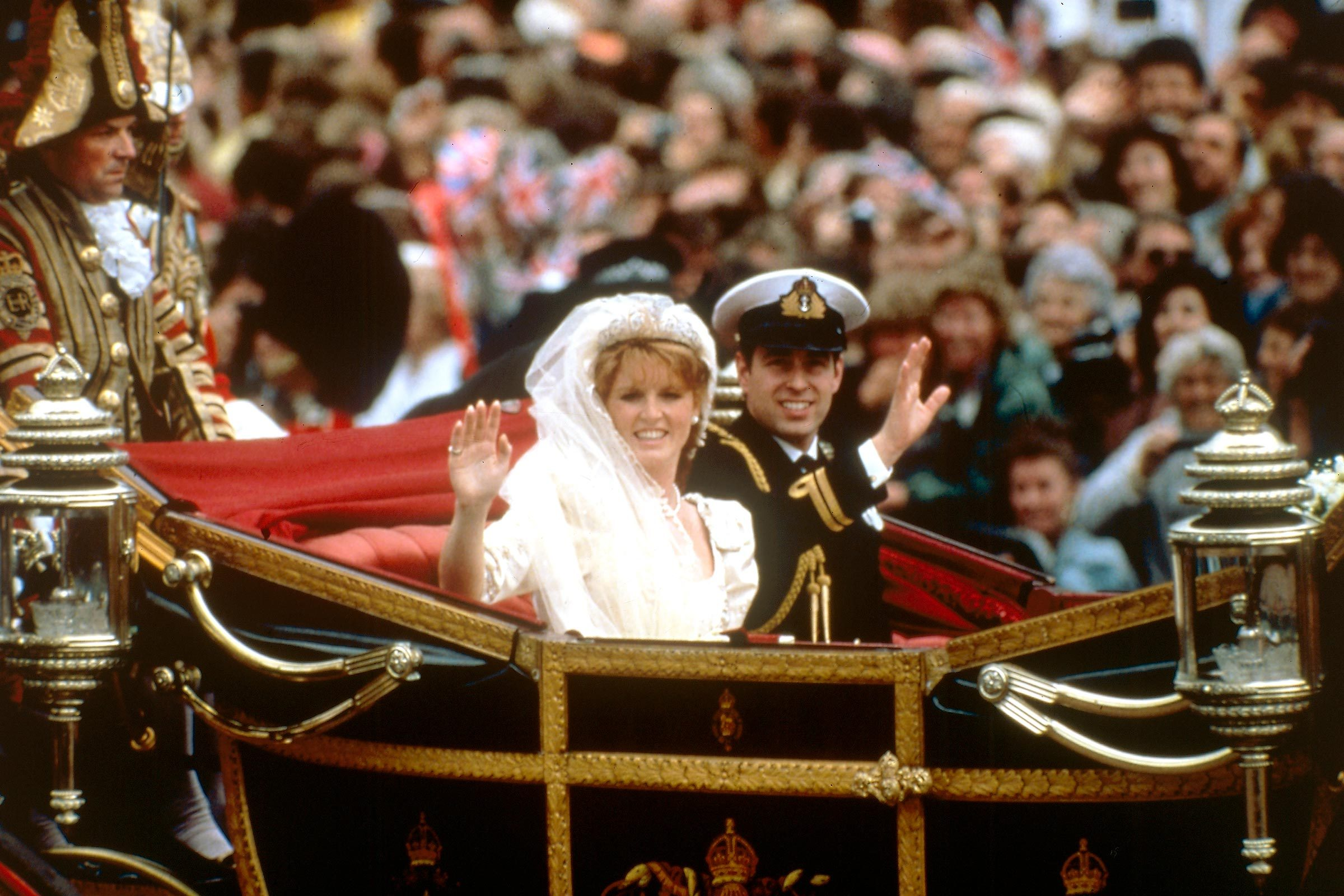 Sarah Ferguson and Prince Andrea Duke of York