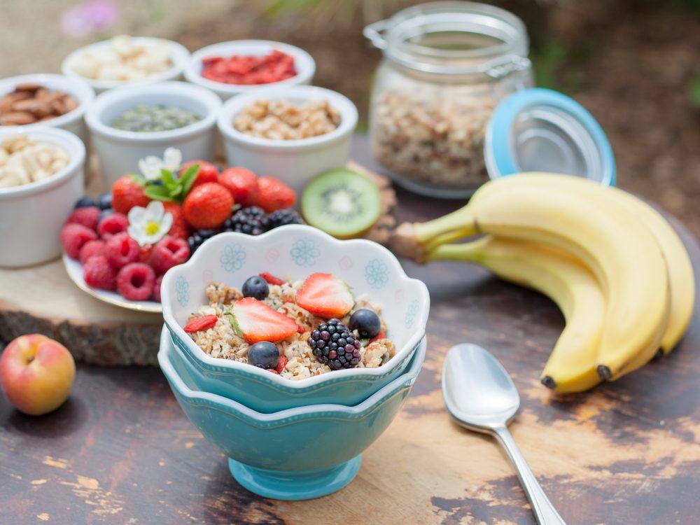 Healthy breakfast foods