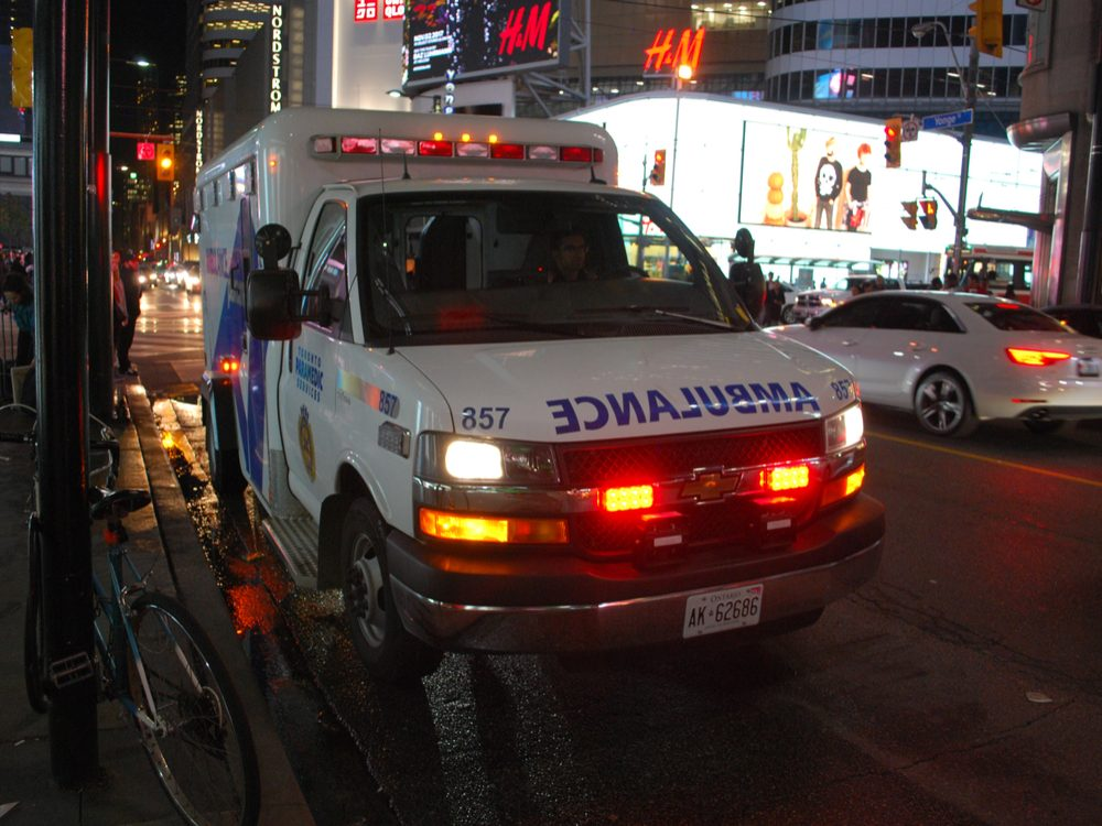 Ambulance in Toronto