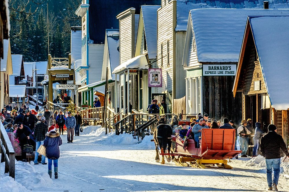 Christmas in Canada: Barkerville, BC