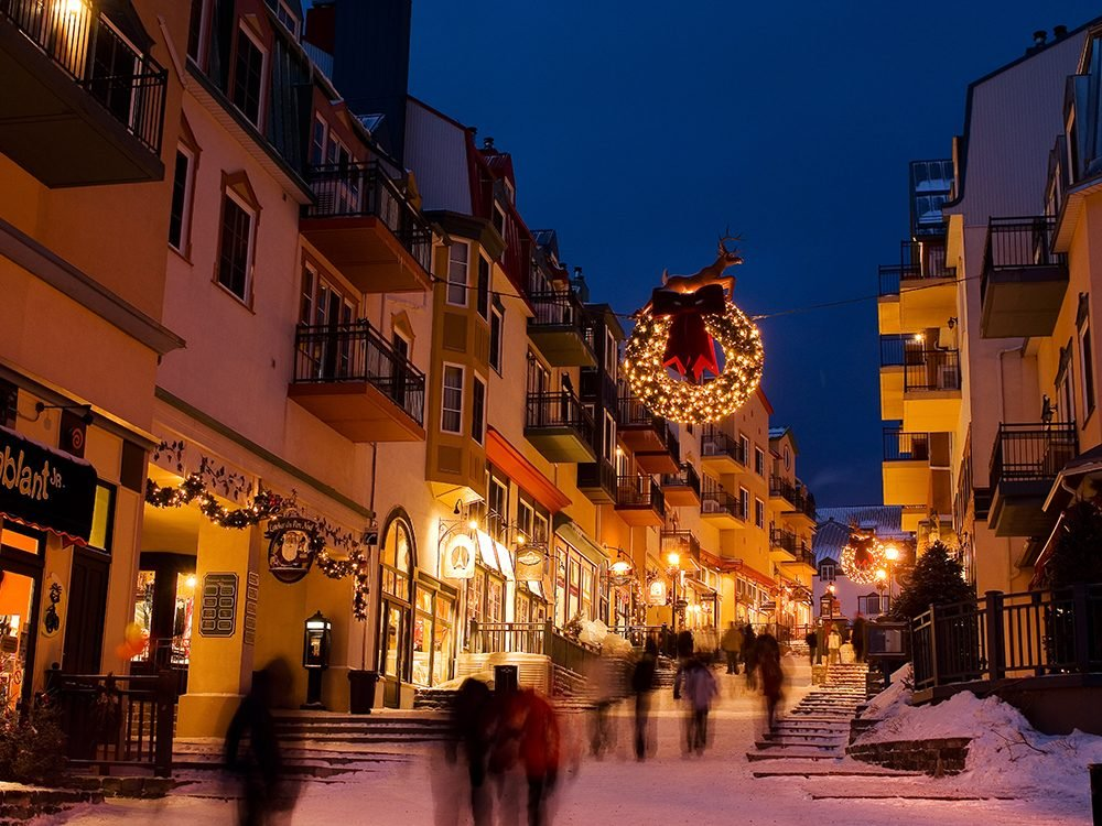 Christmas in Canada: Mont Tremblant, Quebec