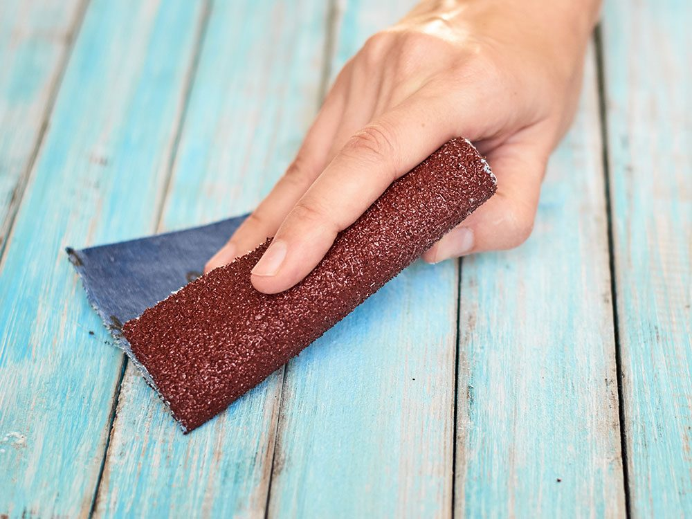 New uses for sandpaper