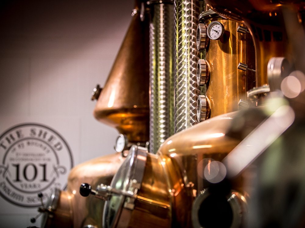 Things to do in Ireland: Shed Distillery