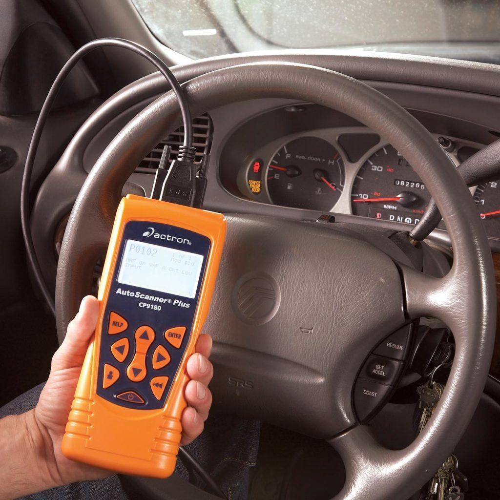 Car code reader