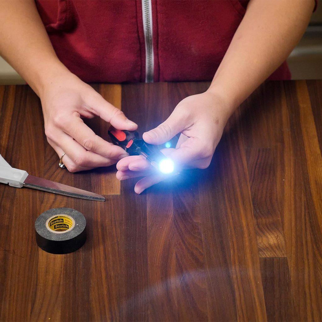lighted screwdriver hack
