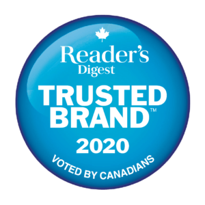 Celebrating Reader's Digest Trusted Brand™ 2020 Winners as Voted by Canadians
