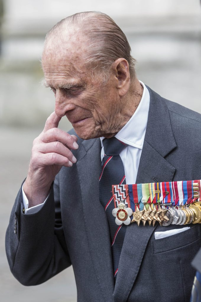 ANZAC Day service at Westmister Abbey, London, Britain - 25 Apr 2015