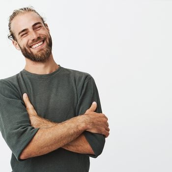 Best jokes of all time - handsome man laughing