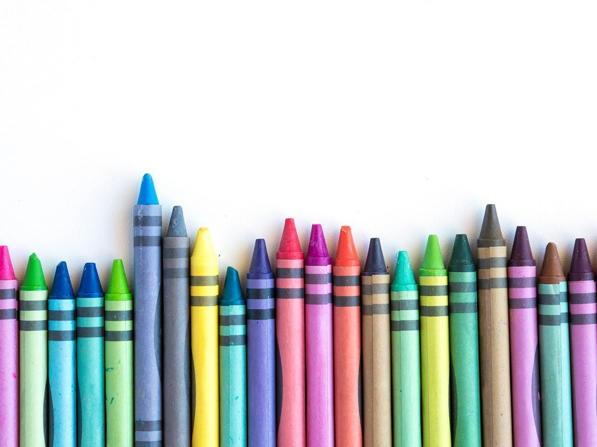 Reader's Digest best jokes of all time - crayons