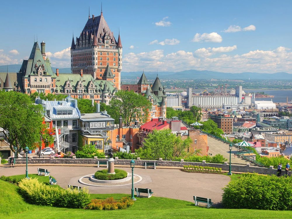 Best places to visit in Canada - Quebec City
