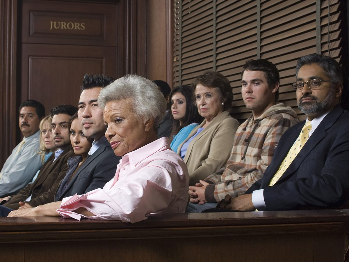 Best Reader's Digest jokes of all time - jury in court
