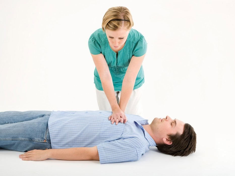 CPR step 3: Chest compressions