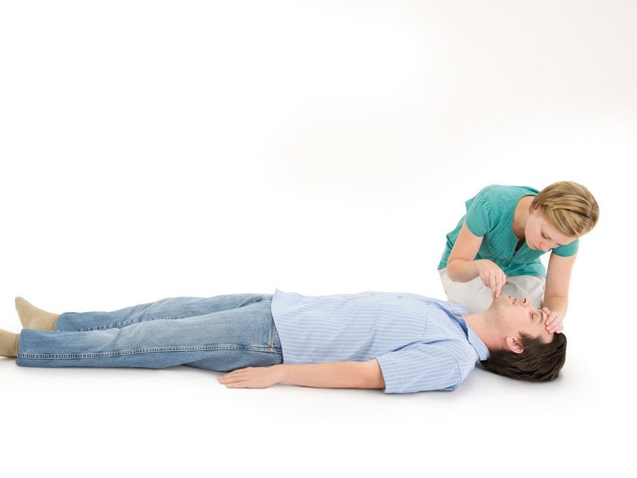 CPR step 4: Open the airway