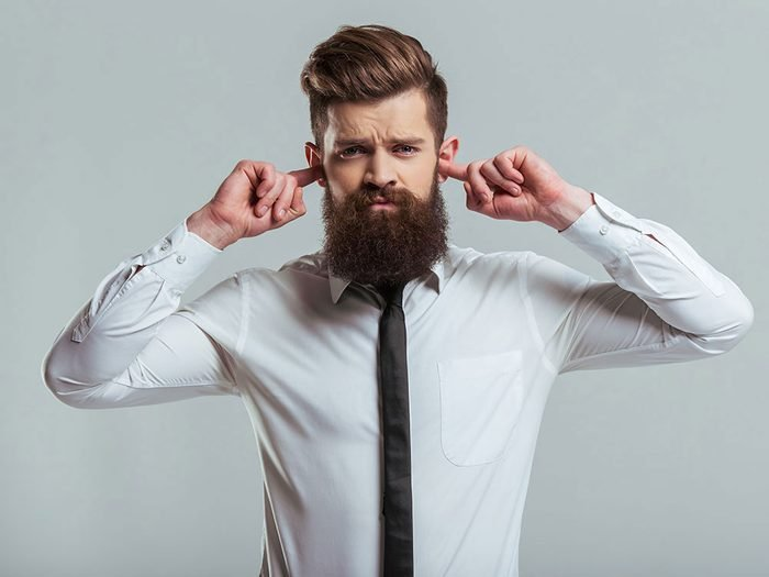 How to get rid of hiccups - plug your ears
