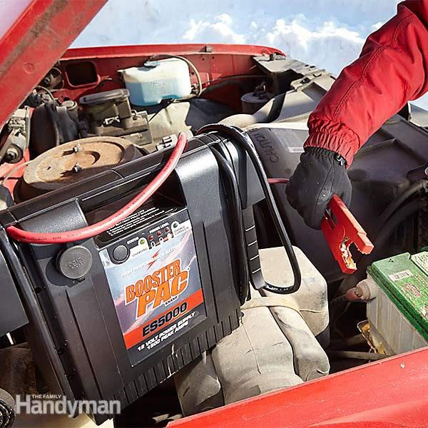 How to jump-start a car with a battery pack