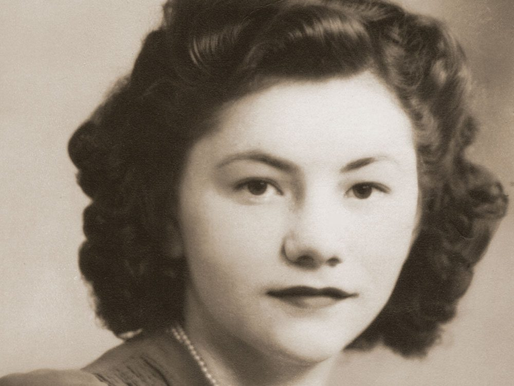 Adeline Roberts at age 16