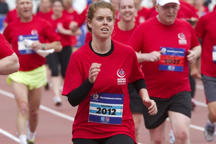 National Lottery 5 Mile Olympic Park Run, Stratford, London, Britain - 31 Mar 2012