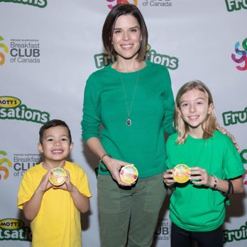 This is What Neve Campbell Wants You to Know About Child Hunger in Canada