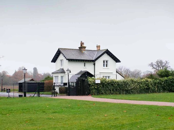 Windsor home of Prince Harry and Meghan Markle