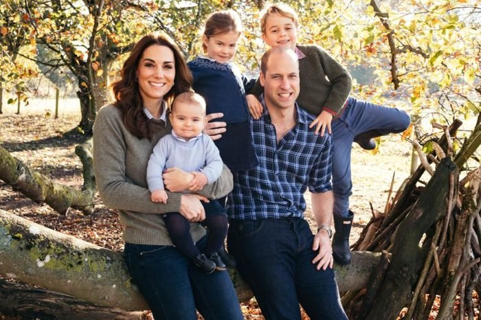 Prince William and Catherine Duchess of Cambridge family Christmas card, Anmer Hall, Norfolk, UK - 14 Dec 2018