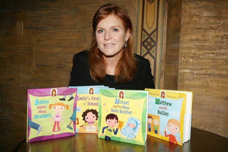 Sarah Ferguson, Duchess of York launches her 'Helping Hand Books', New York, America - 26 May 2010