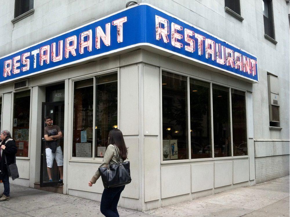 Tom's Restaurant in New York